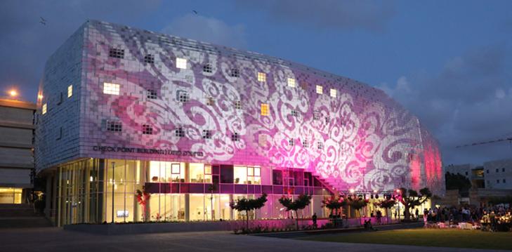 נחנך בניין צ'ק פוינט – ביתם של בית הספר למדעי המחשב ואוניברסיטת תל אביב לנוער