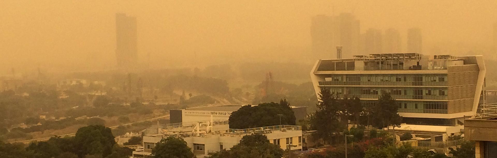 זיהום אוויר - הקשר לקרינה, איכות האוויר ומזג האוויר