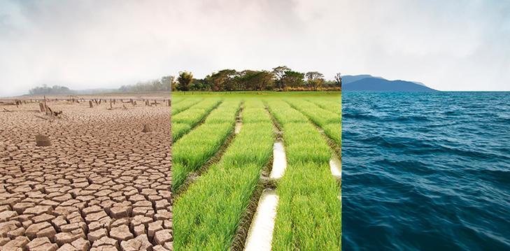 אקלים, מים, סביבה