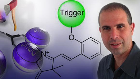 התקשורת מתעניינת במחקר פורץ הדרך שנערך במעבדתו של פרופ' דורון שבת בנושא פיתוח חיישנים ביולוגיים המבוססים על חומרי צבע פולטי אור