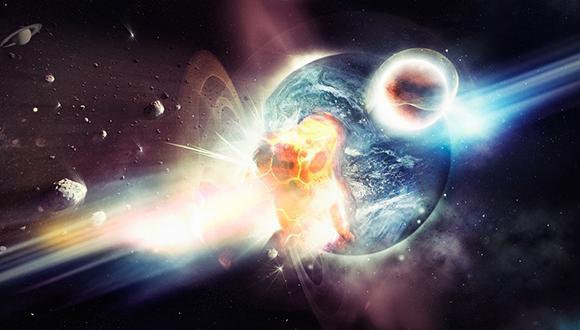 גלי כבידה נצפו מהתמזגות שני כוכבי נויטרונים שלוותה בפיצוץ אדיר